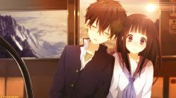 Anime Couples D | Cute anime couple by Ponydesign0 | anime cx | Pinterest