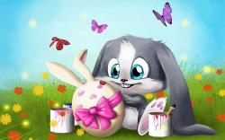 Cute Easter wallpaper