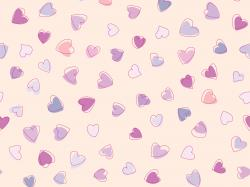 Cute Heart Pattern Wallpaper