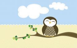 Cute Owl Wallpaper Desktop Images Amp Pictures Becuo