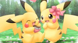Enchanting Thanksgiving Wallpaper Backgrounds Free: Exciting Cute Pokemon Background Wallpaper 1366x768px