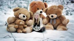cute bears girl toys mood cute 180479