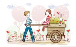 Cute Valentine Background 18991 1920x1200 px