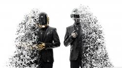 Daft Punk Splashed HD Wide Wallpaper for Widescreen