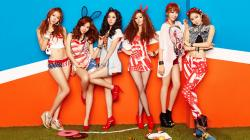 Dal★shabet backdrop wallpaper
