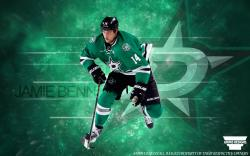 Jamie Benn Dallas Stars 2014 wallpaper