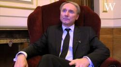 Dan Brown Inferno interview after his only UK event