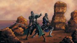 Dark Souls 2: The Knights of Majula by MenasLG