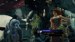 New in Darksiders 2 is dialogue wheels.