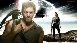 ... The Walking Dead Daryl & Andrea wallpaper by ngrubor