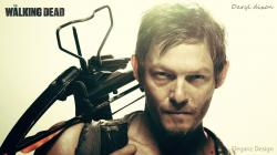 ... Daryl Dixon (The walking dead) Wallpaper by EleganzDesign