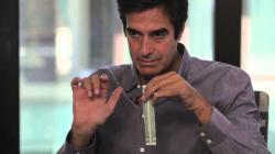David Copperfield Teaches a Magic Trick On-Camera