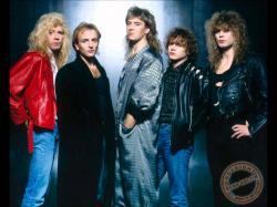 Def Leppard on Rockline 1987