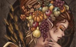 Demeter goddess of the harvest HQ WALLPAPER - (#100461)