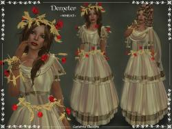 Demeter Outfit ~WHEAT~ by Caverna Obscura