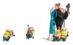 Despicable Me 2 Gru Minions HD Wallpaper