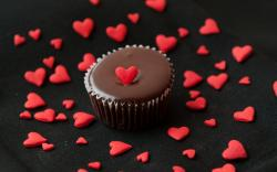 Dessert Cake Hearts Love