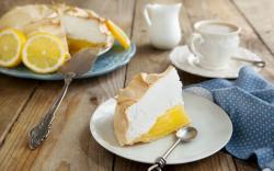 Dessert Cake Slice Lemon