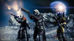 From left to right: Warlock, Hunter, and Titan.