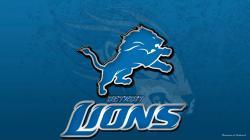 Excellent Detroit Lions Blue Logo Face Tigers Wings Nfl Backgrounds Wallpapers