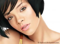 Rihanna by Etskuni