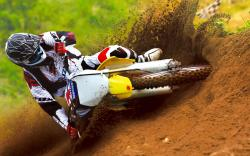 Suzuki Dirt Bike Image Wallpaper
