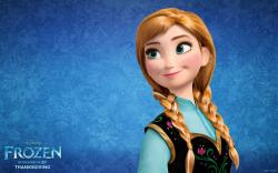 disney Frozen Movie Anna HD Wallpaper Disney FROZEN Wallpapers HD: Free HD FROZEN Movie Wallpapers