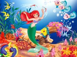 Disney Wallpaper Kids The Little Mermaid 1600x1200