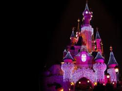 Disney Castle - christmas wallpaper