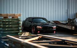 Dodge Charger Black Car Tuning