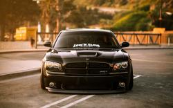 Dodge Charger SRT Front Car