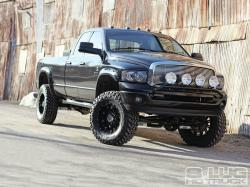Dodge Ram black modified