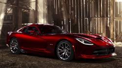 Red Dodge Viper Wallpaper