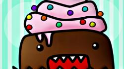 Widescreen resolutions (16:10): 1280x800 1440x900 1680x1050 1920x1200. Normal resolutions: 1024x768 1280x1024. Wallpaper Tags: cupcake candy cupcakes domo ...