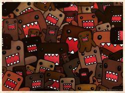 Domo Kun Explosion Wallpaper