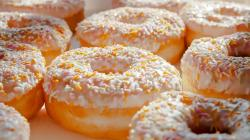 1920x1080 Wallpaper donuts, macro, sprinkling, sweet