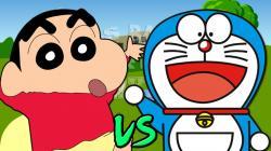 Shin Chan vs Doraemon. Épicas Batallas de Rap del Frikismo | Keyblade ft. Cyclo