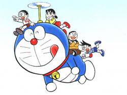 Flying Doraemon High Resolution Wallpaper Free