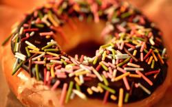 Doughnut Sprinkles Macro