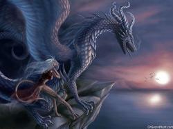 3D Dragon Fantasy Wallpaper