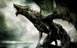 3D Dragon Fantasy Wallpapers1
