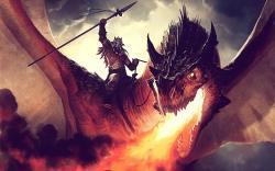 original wallpaper download: Dragon riders - 2560x1600