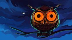 Drawing Owl Branch