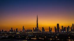 Timelapse Dubai Skyline Sunsets Amazing!