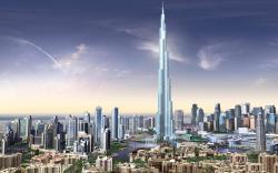 Burj Dubai Skyscrapers UAE