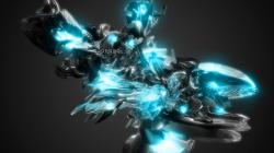 Light Blue Dubstep Wallpaper by JohnBeuren