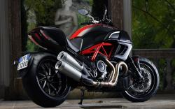 Ducati diavel bike
