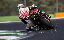 Ducati Motorcycle Track Speed Pilot