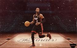 ... Dwyane Wade 'Finals' Wallpaper by AMMSDesings