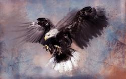 Eagle artwork painting